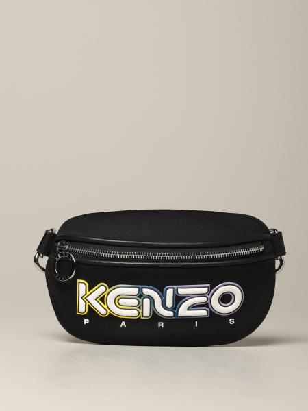 Kenzo logo 铝锭橡胶腰包