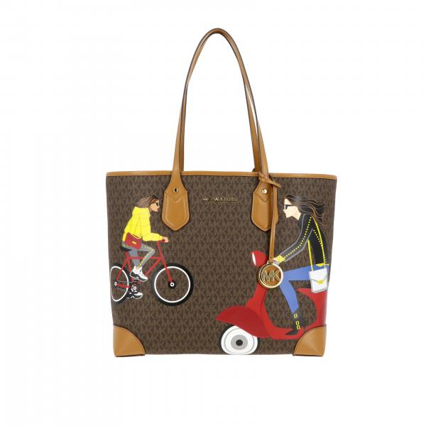 Michael Michael Kors tote bag with all over MK print