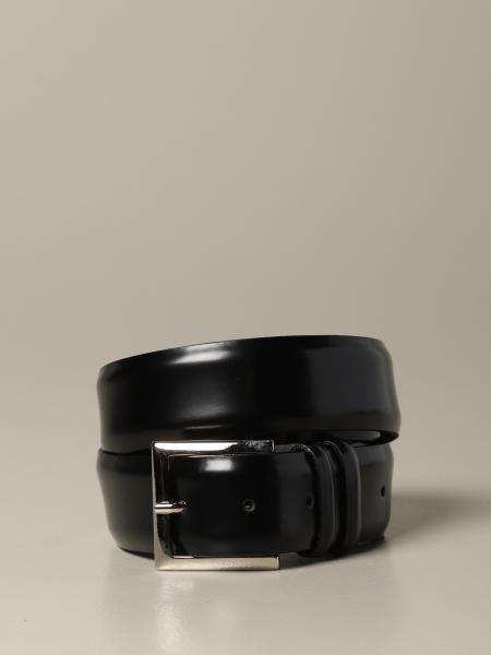 Cintura Orciani in pelle classica