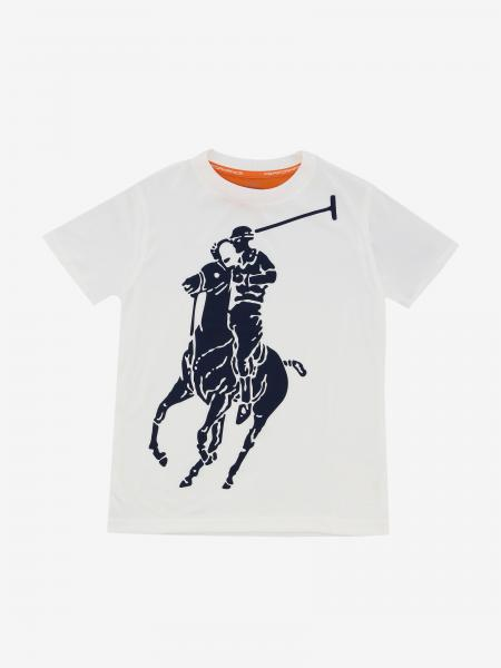 T-shirt Polo Ralph Lauren Toddler avec logo imprimé