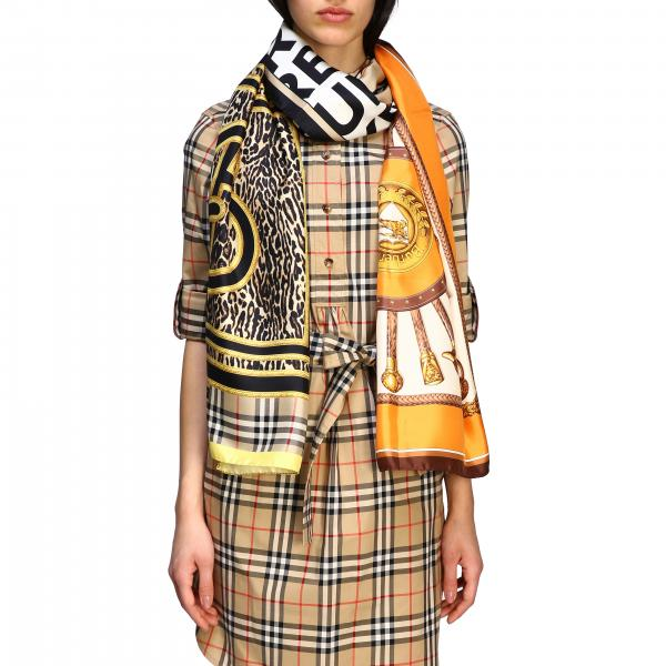 Burberry Schal mit Multi Prints