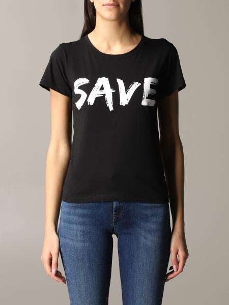 T-shirt Save The Duck corn logo