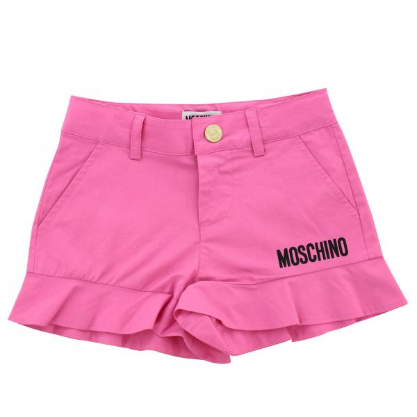 Moschino Kid shorts with flounces