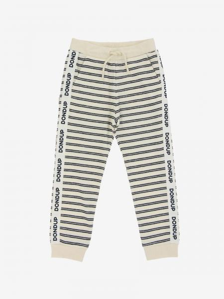 Pantalone jogging Dondup a righe