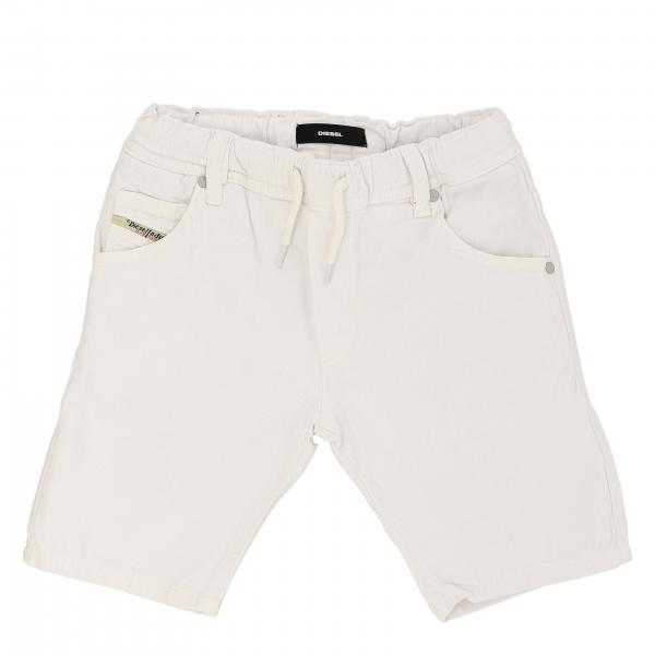 Diesel denim shorts with drawstring
