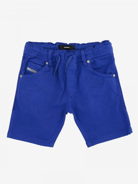 Pantaloncino di jeans Diesel con coulisse