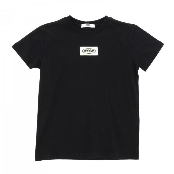 Msgm Kids short-sleeved T-shirt with back print
