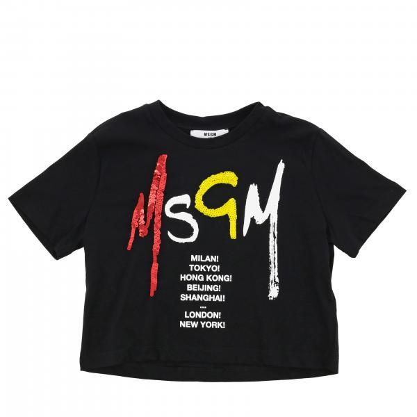 T-shirt enfant Msgm Kids