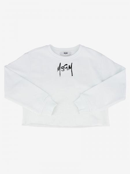 Msgm Kids logo上衣