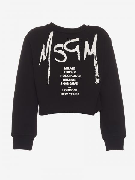Msgm Kids sweater with logo