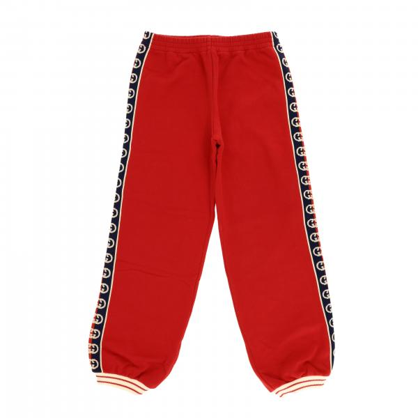 Gucci trousers with logoed bands