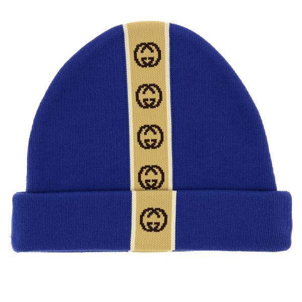 Sombrero Gucci con banda con logo
