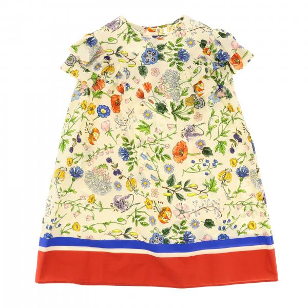 Gucci floral patterned dress