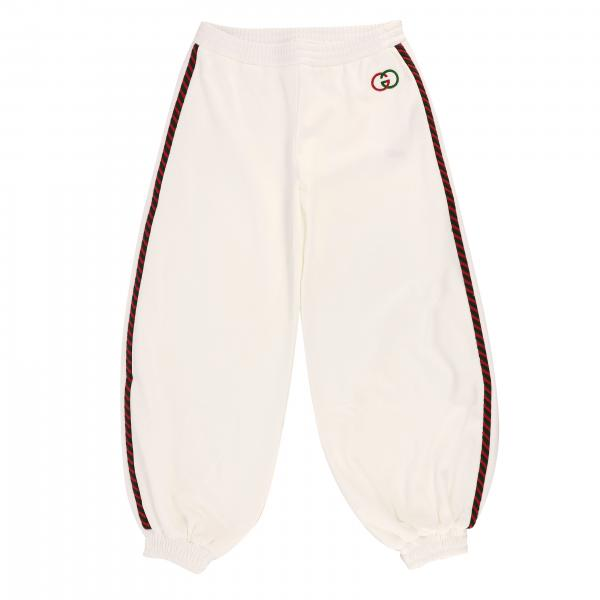 Pantalon Gucci en tissu stretch avec logo GG