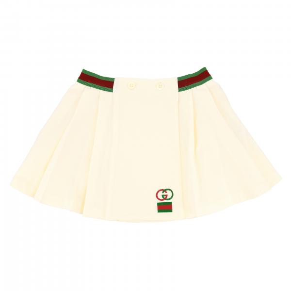Gucci wide skirt with Web band