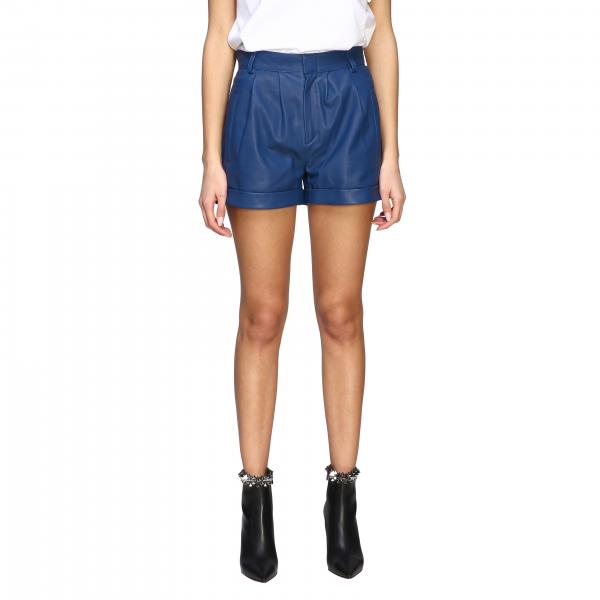 Federica Tosi leather shorts