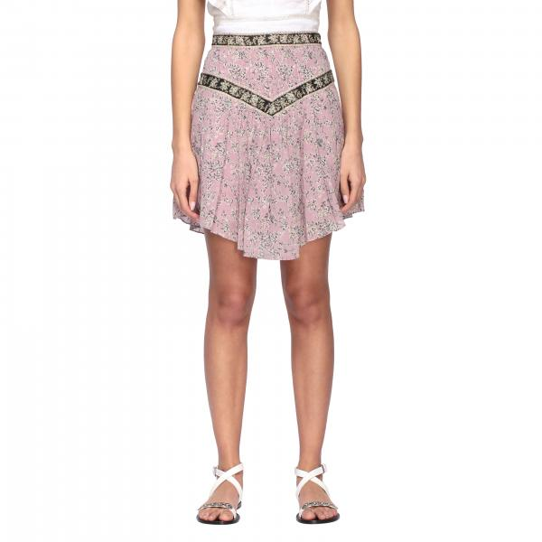 Valerie Isabel Marant Etoile skirt with floral pattern