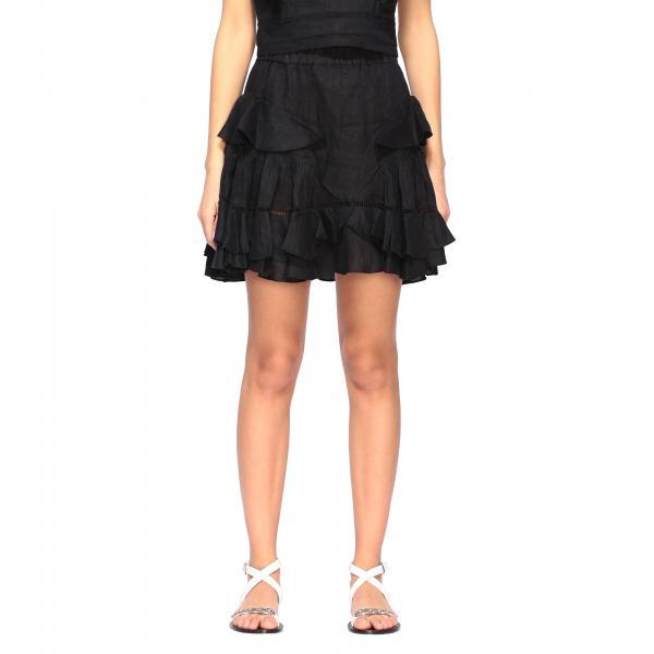 Alikaya Isabel Marant Etoile skirt with ruffles