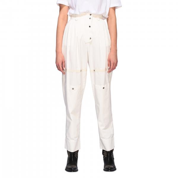 Etro 纽扣装饰高腰裤子