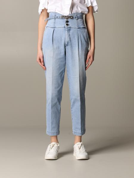 Jeans Ariel 2 Pinko a vita alta con cinta