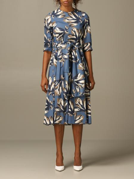 S Max Mara dress with graphic print