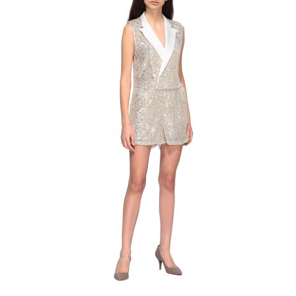 Short Liu Jo suit with sequins