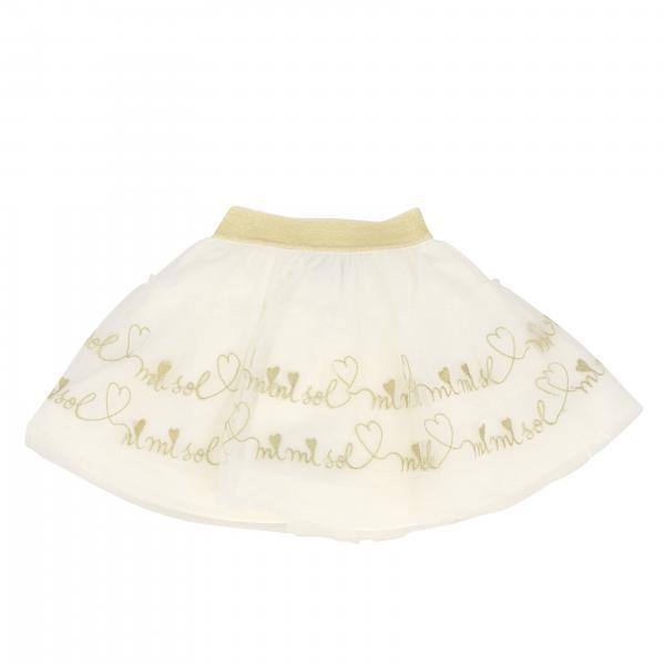 Mi Mi Sol wide skirt with logo