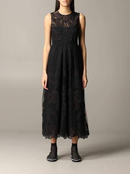Long Red Valentino dress