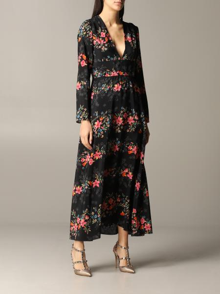 Red Valentino dress with floral print