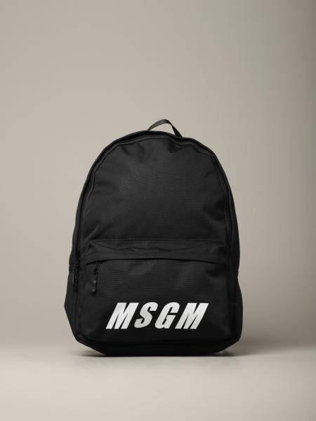 Backpack men Msgm