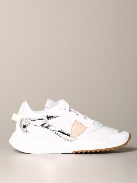 Philippe Model sneakers in leather and mesh