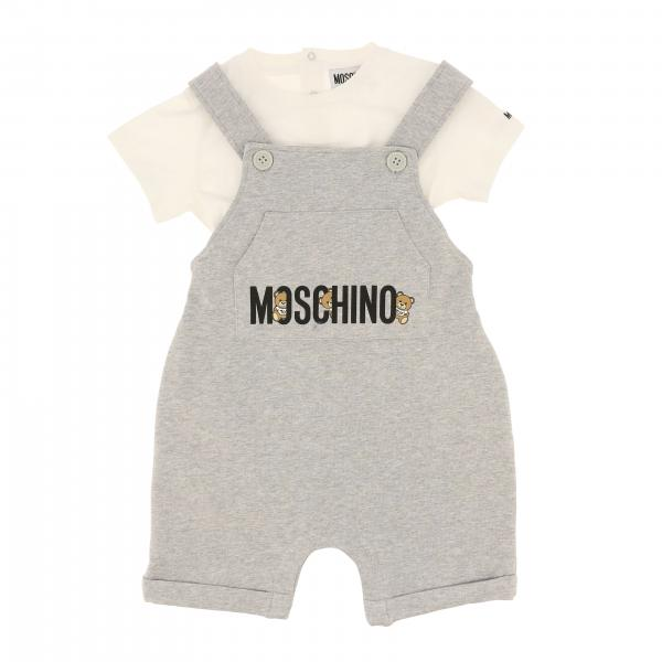 Completo t-shirt + sapolette Moschino Baby