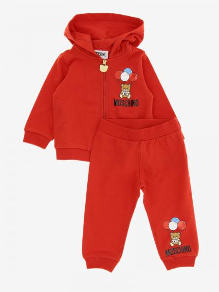 Moschino Baby Sweatshirt + Hose mit Teddy