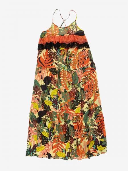 Liu Jo dress with leaves pattern