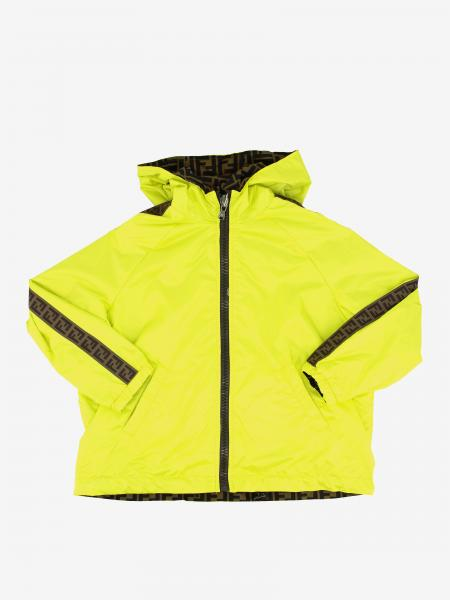 Reversible Fendi nylon jacket with FF monogram