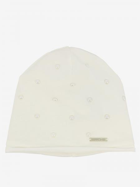 Liu Jo hat with logo and pearls