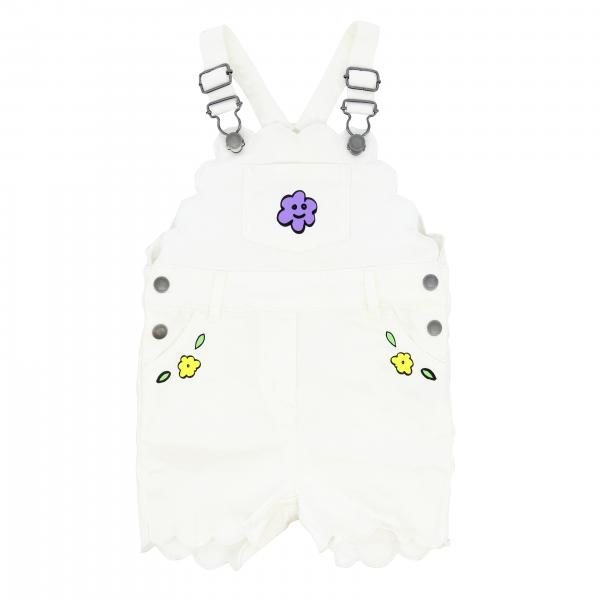 Stella McCartney dungarees with floral prints