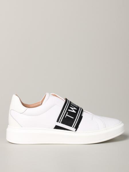 Twin Set Sneakers mit Logo-Band