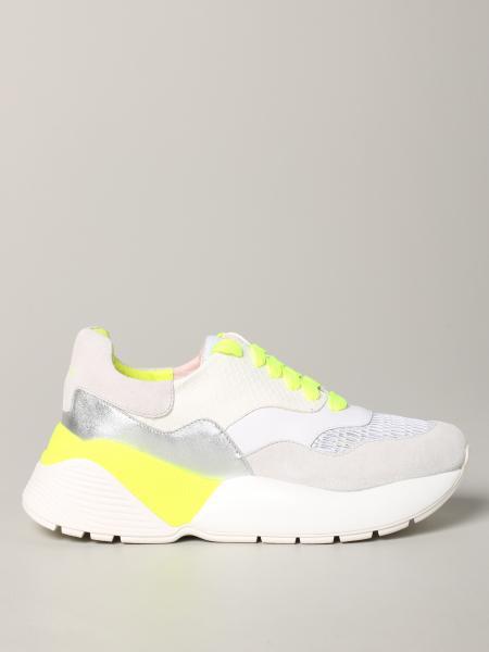 Twin Set Sneakers aus Wildleder und Mesh