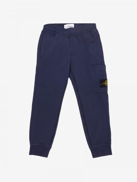 Stone Island Junior jogging trousers with logo