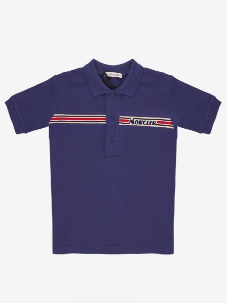 Polo à manches courtes Moncler avec logo