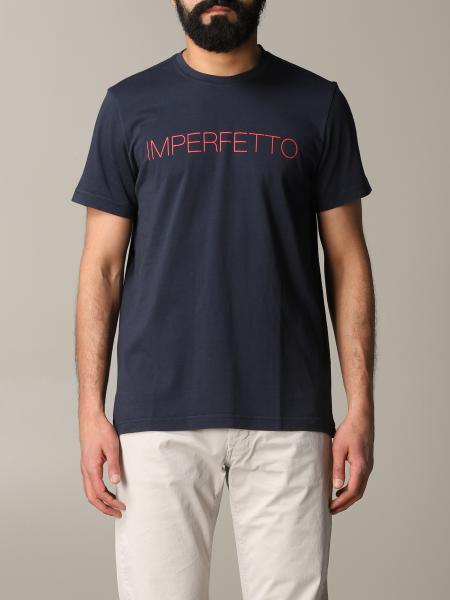 T-shirt Aspesi a maniche corte con stampa imperfetto