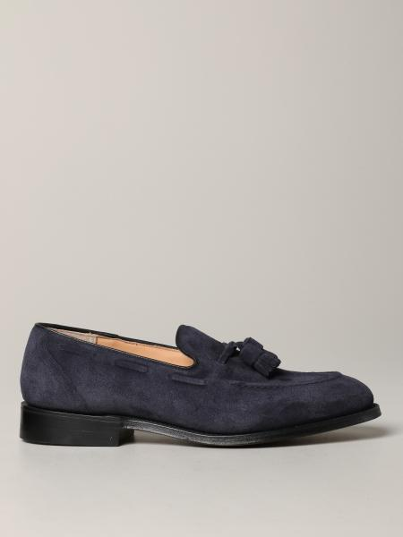 Tunbridge Church's suede loafer with tassels