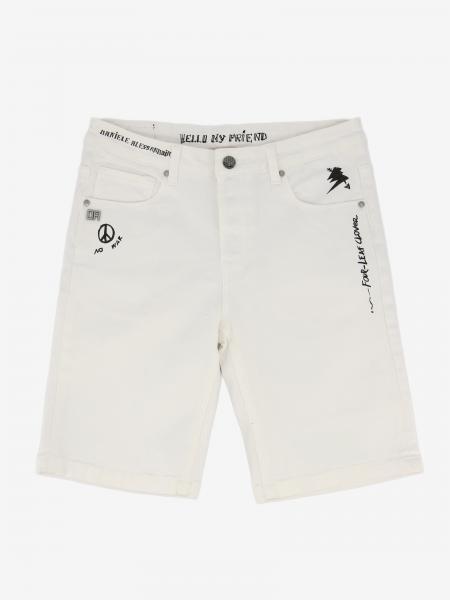 Pantaloncino Daniele Alessandrini con multi scritte
