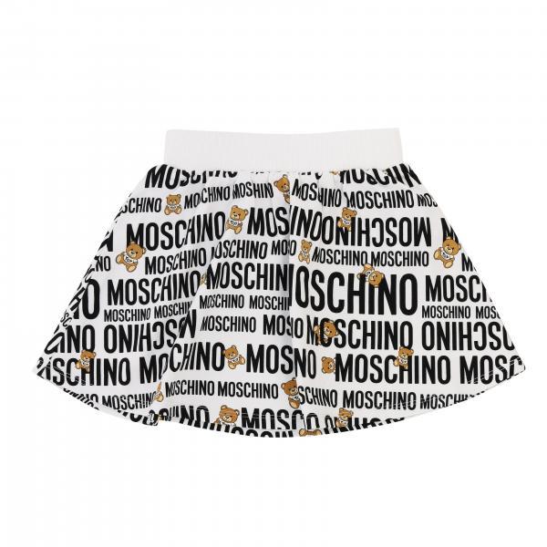 Gonna Moschino Kid con logo all over