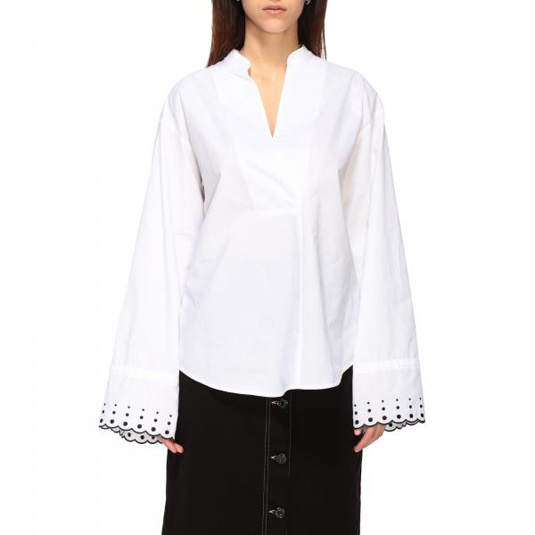 See By ChloÉ shirt with wave and polka dot edges
