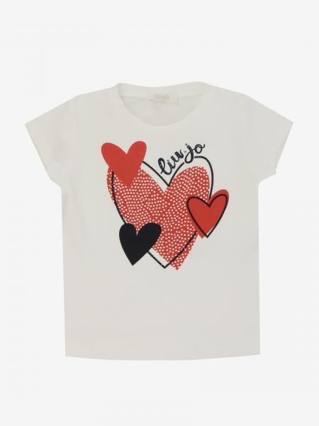 T-shirt Liu Jo a maniche corte con stampa cuore