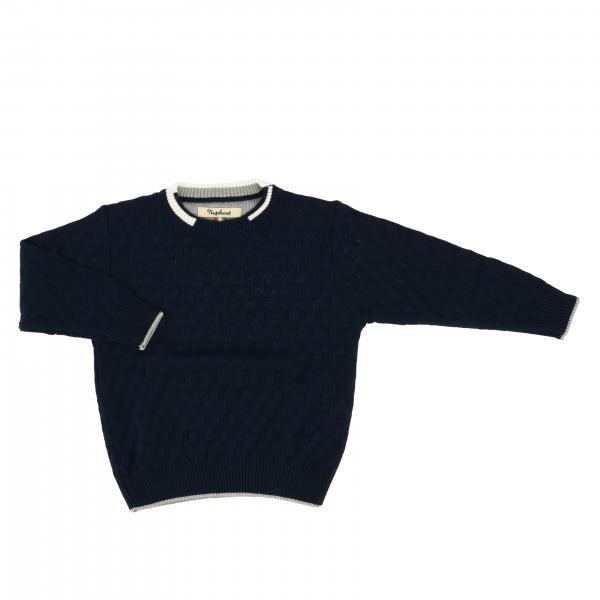 Nupkeet crew neck sweater with colored edges