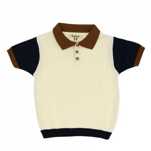 Nupkeet short-sleeved polo shirt with contrasts