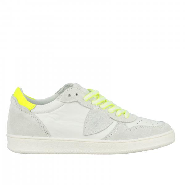 Philippe Model sneakers in leather and suede